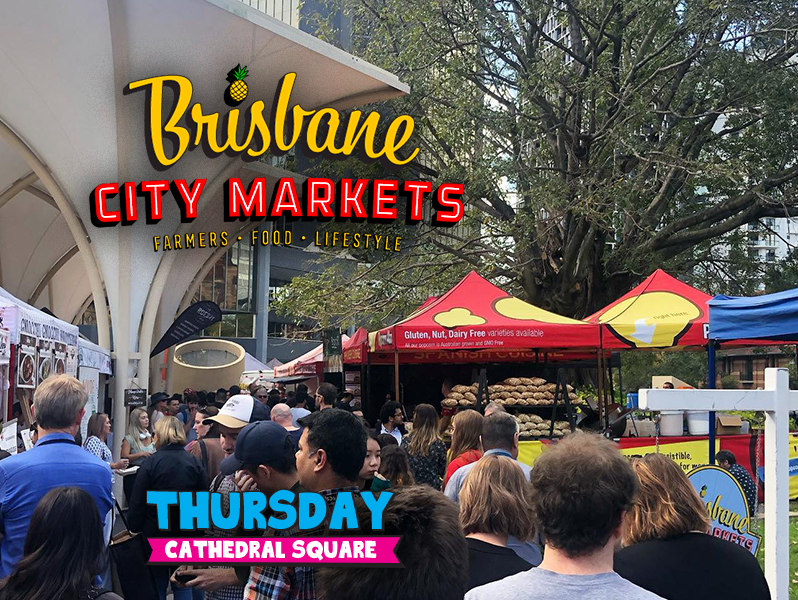 Brisbane City Markets Cathedral Square