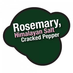Rosemary Himalayan Salt andCracked Pepper